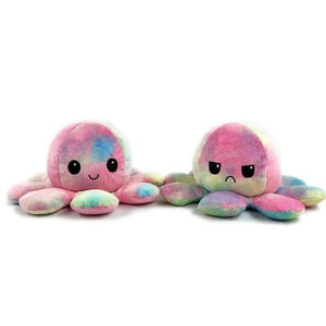 Reversible Octopus Plush - Chica Sol