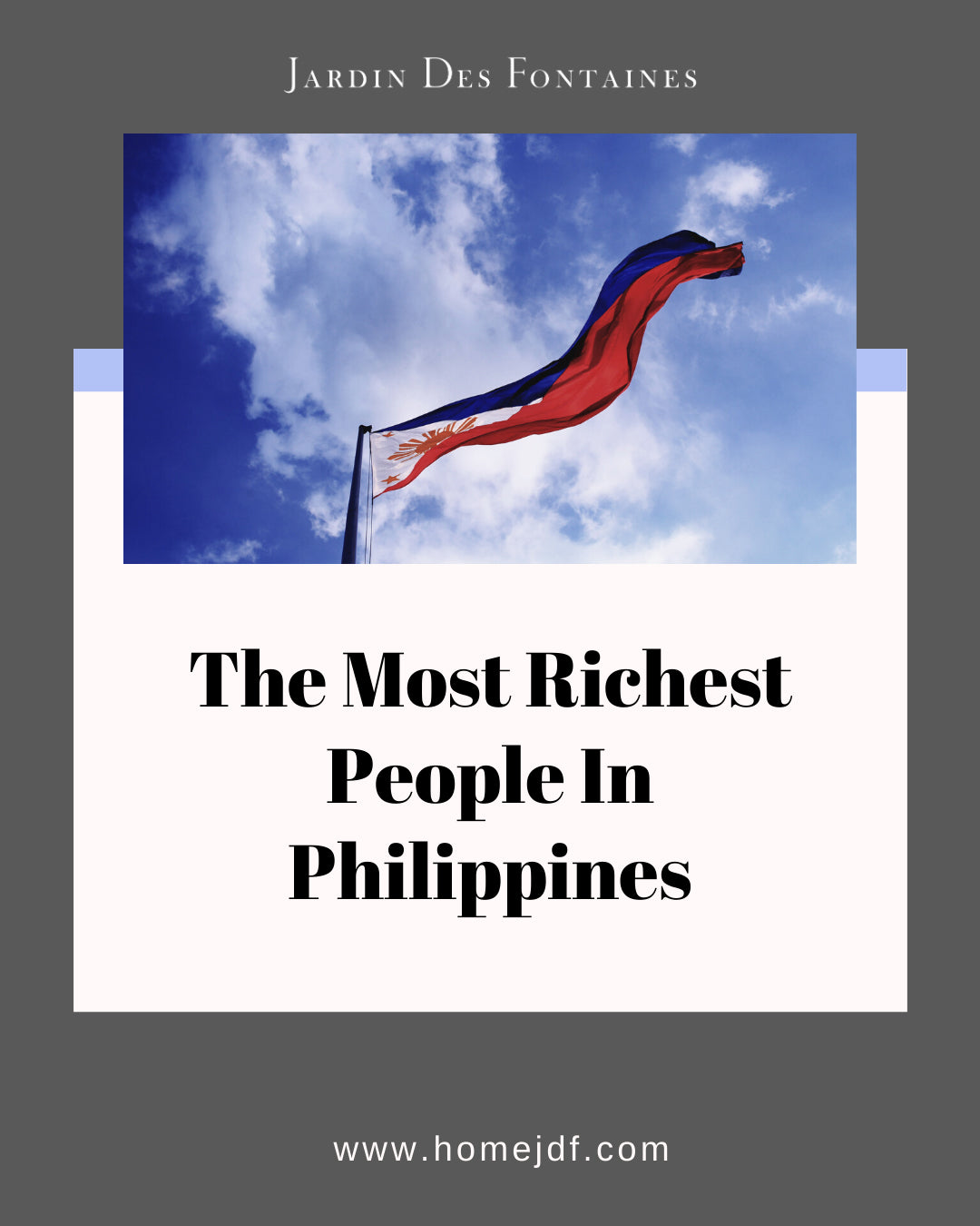 The Most Richest People In Philippines