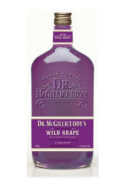 DR MCGILLICUDDYS WILD GRAPE LIQUEUR