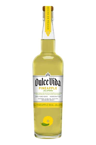 DULCE VIDA REAL PINEAPPLE JALAPENO TEQUILA