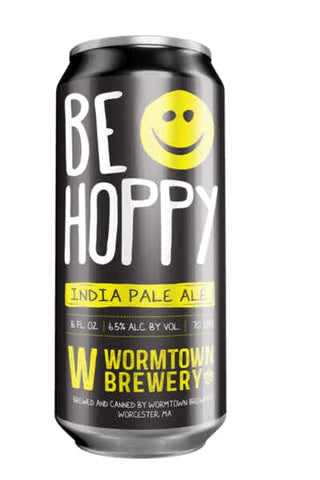 WORMTOWN BREWERY BE HOPPY IPA