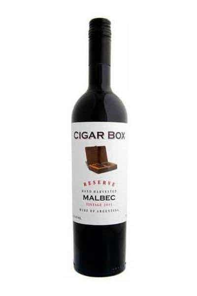 CIGAR BOX RESERVE HAND HARVESTED MALBEC