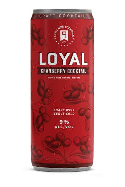 Sons of Liberty Loyal 9 Cranberry Cocktail