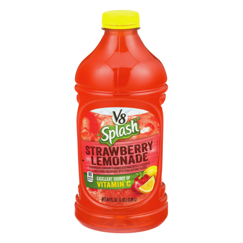 V8 SPLASH STRAWBERRY LEMONADE