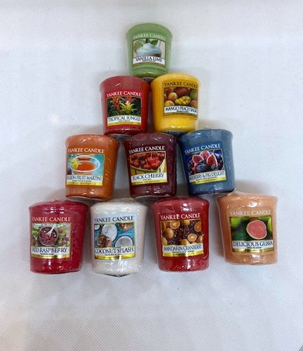 Yankee Candle Votive Bundle Offer Fruity - lovearomameadowhall
