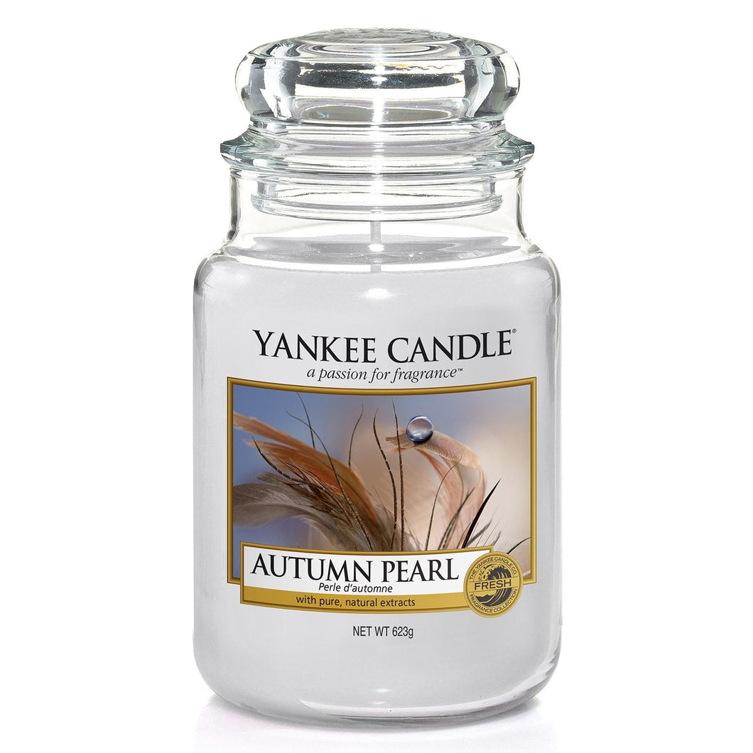 Yankee Candle Large Jar Autumn Pearl - lovearomameadowhall