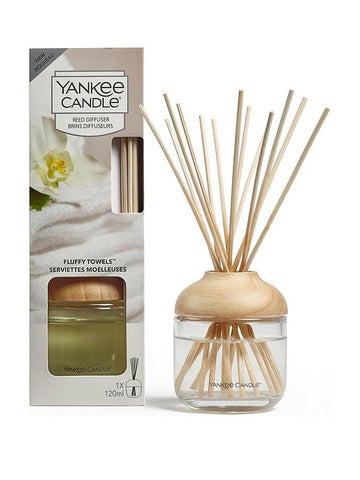 Yankee Candle Fluffy Towels Reed Diffuser - lovearomameadowhall