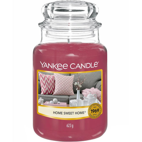 Yankee Candle Large Jar Home Sweet Home - lovearomameadowhall