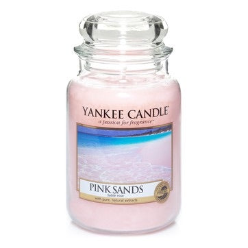 Yankee Candle Large Jar Pink Sands - lovearomameadowhall