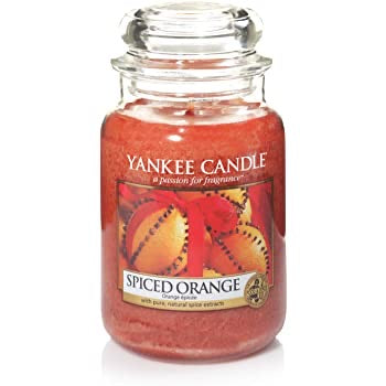 Yankee Candle Large Jar Spiced Orange - lovearomameadowhall