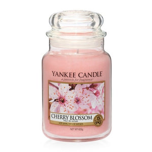 Yankee Candle Large Jar Cherry Blossom - lovearomameadowhall