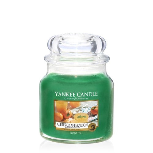 Yankee Candle Medium Jar Alfresco Afternoon - lovearomameadowhall