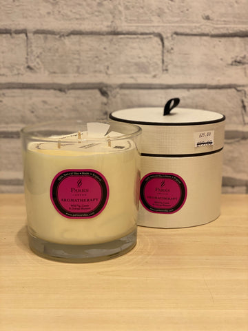Parks Wild Fig, Cassis and Orange Blossom Large 3 Wick Candle