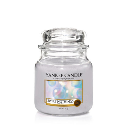 Yankee Candle Medium Jar Sweet Nothings - lovearomameadowhall