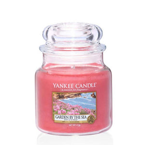 Yankee Candle Medium Jar Gardens by the Sea - lovearomameadowhall