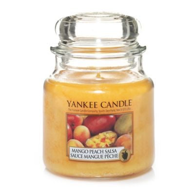Yankee Candle Medium Jar Mango Peach Salsa - lovearomameadowhall