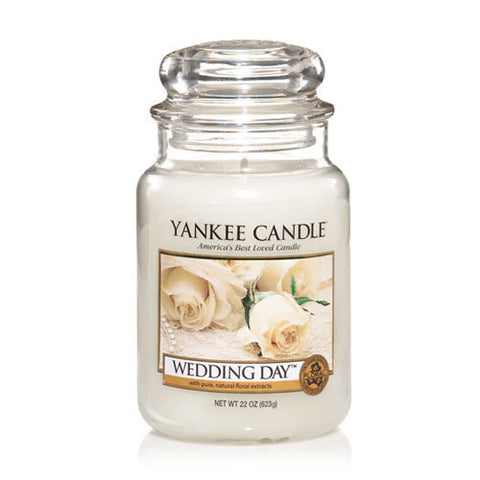 Yankee Candle Large Jar Wedding Day - lovearomameadowhall