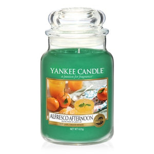 Yankee Candle Large Jar Alfresco Afternoon - lovearomameadowhall