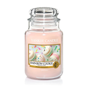 Yankee Candle Large Jar Rainbow Cookie - lovearomameadowhall