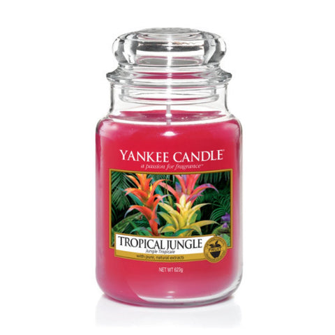 Yankee Candle Large Jar Tropical Jungle - lovearomameadowhall