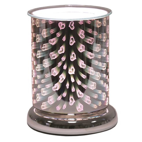 Hearts 3D Electric Melt Warmer - lovearomameadowhall