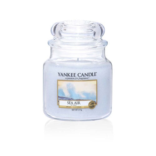 Yankee Candle Medium Jar Sea Air - lovearomameadowhall