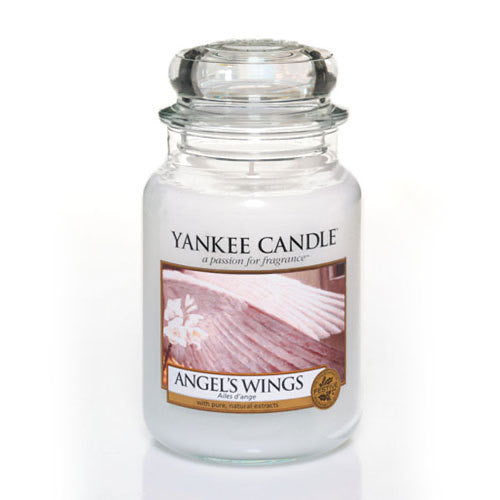Yankee Candle Large Jar Angel Wings - lovearomameadowhall