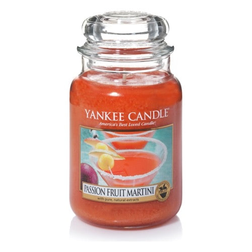 Yankee Candle Large Jar Passion Fruit Martini - lovearomameadowhall