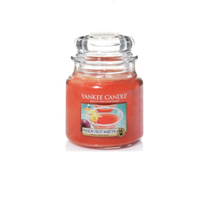 Yankee Candle Medium Jar Passionfruit Martini - lovearomameadowhall
