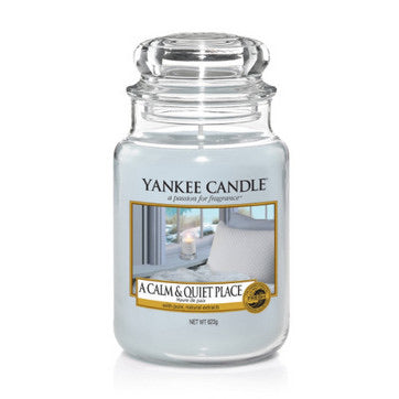 Yankee Candle Large Jar Calm and Quiet Place - lovearomameadowhall