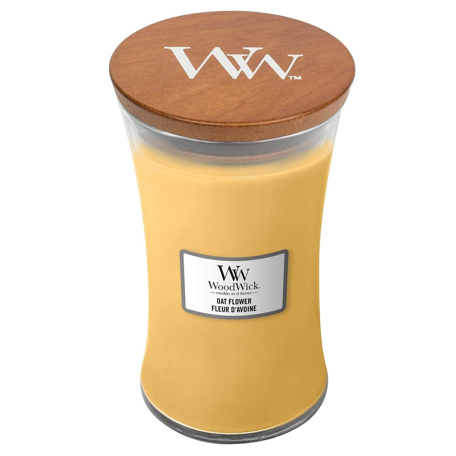 Oat Flower Large Woodwick Candle - lovearomameadowhall