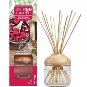 Yankee Candle Red Raspberry Reed Diffuser - lovearomameadowhall