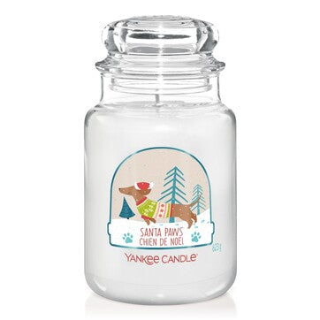 Yankee Candle Large Jar Santa Paws - lovearomameadowhall