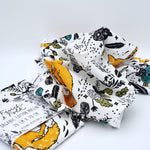 Fields of Friends Organic Cotton Muslin Wrap | Finch & Folk