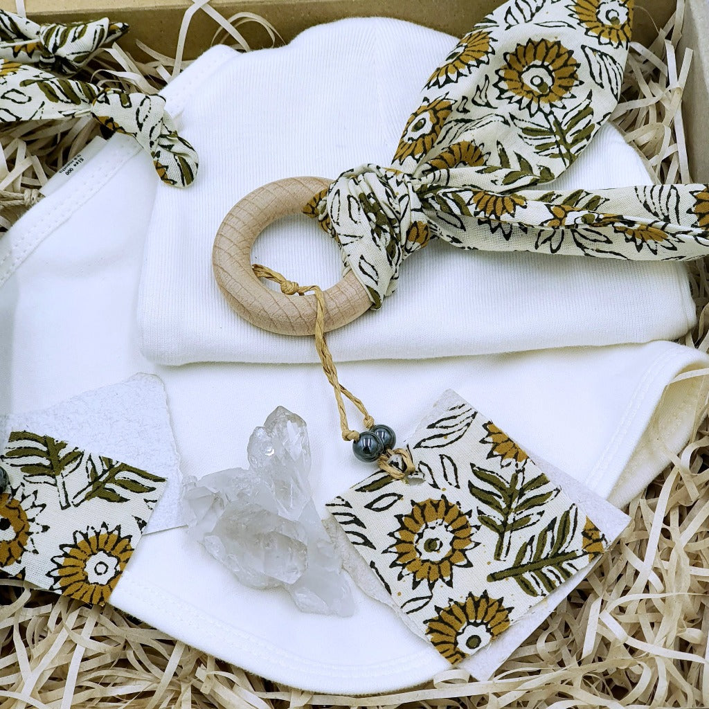 Sunflower Kisses | zizou Baby Bundle