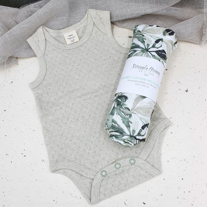 Sage Sleeveless Body Suit - Fibre for Good