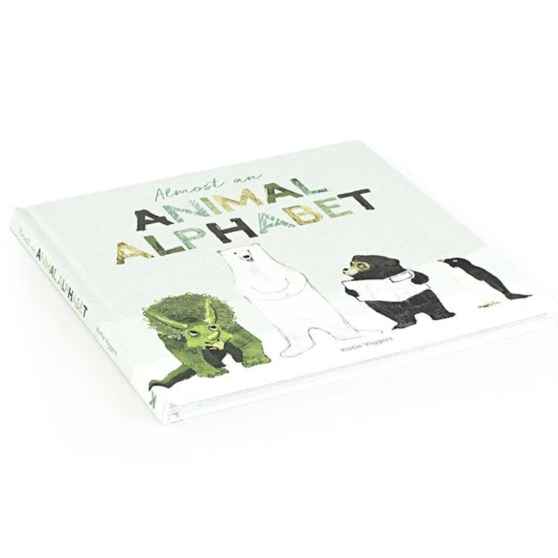 Almost an Animal Alphabet by Katie Viggers  From anteaters and bears to yetis and zebras, this charming animal alphabet book takes children on a journey all the way from A to Z (well, almost…). Learn your ABC's through a whole cast of your animal favorites.
