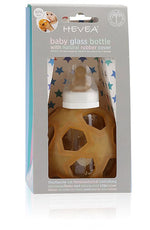 2 in 1 Glass bottle with Star Ball | Hevea