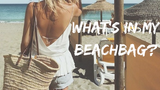 What's in my beach bag?