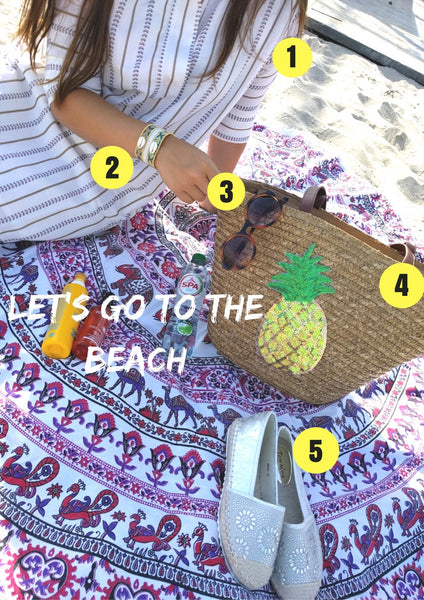 what's in my beachbag