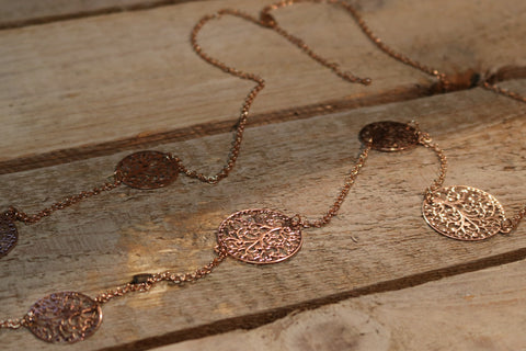 Temptation Island - Juwelen collectie Miracles by Annelien Coorevits - Ketting Rosé goud