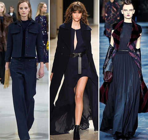 Dark Navy Blue Fall Trend 2016