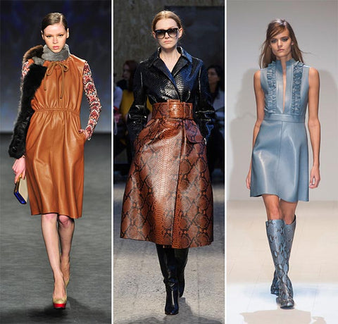 Leather Fashion Trend 2016