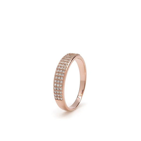 LineArgent - Ring Reflejo Single Rosegold - Luxedy