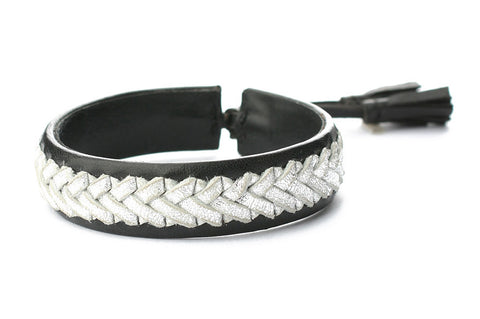Exoal Armband Black Silver - Luxedy