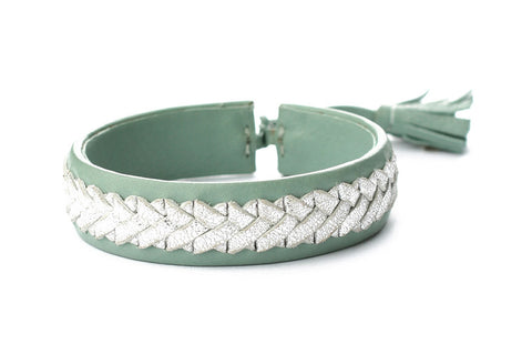 Exoal Armband Mint Silver - Luxedy