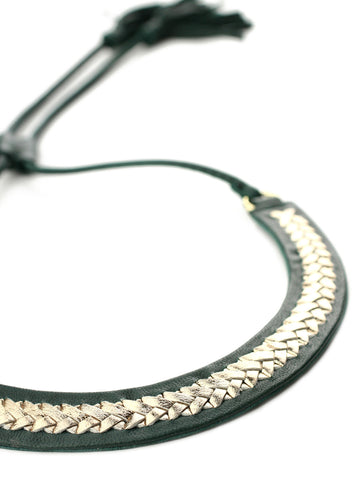 Exoal Ketting Green Gold - Luxedy - 2
