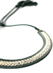 Exoal Ketting Green Gold - Luxedy