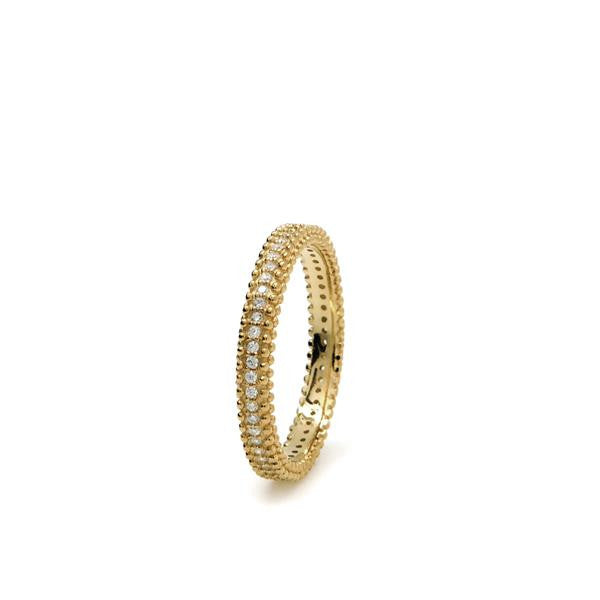 LineArgent - Ring Elegant Gold - Luxedy - 1