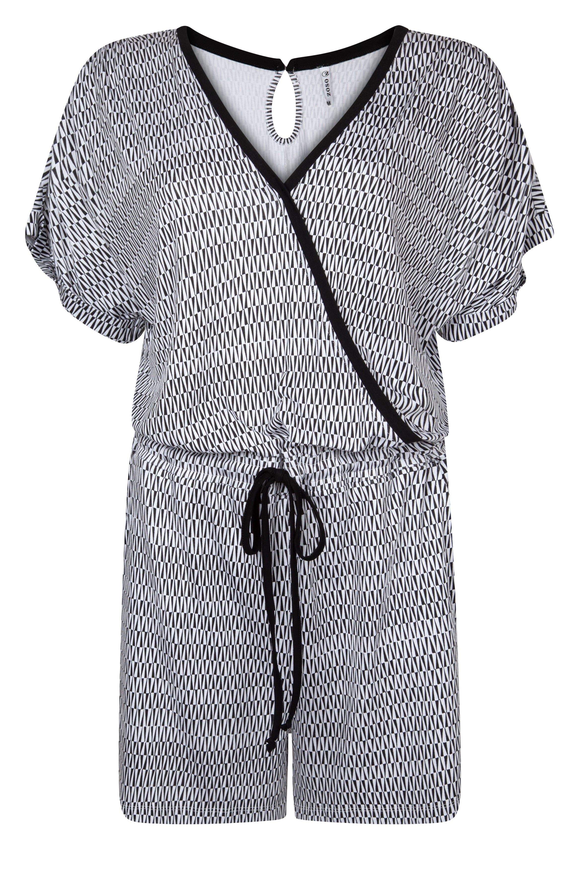 Zoso - Jumpsuit Aiko Black & White